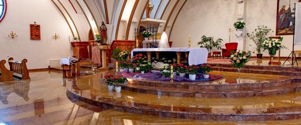 Groby Pańskie w mińskich kościołach 2021 - galeria zdjęć
