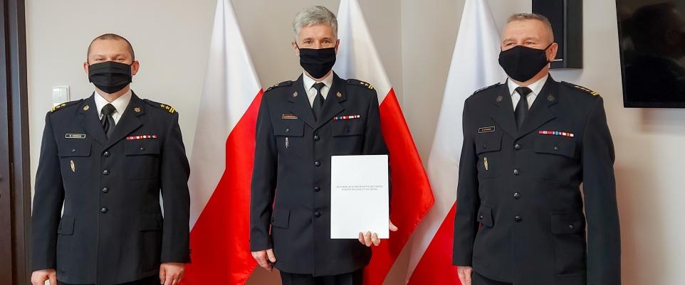 Powołanie Komendanta Powiatowego PSP w Mińsku Mazowieckim