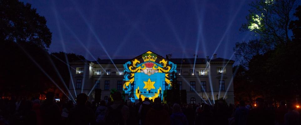Dni Miasta: mapping na pałacu