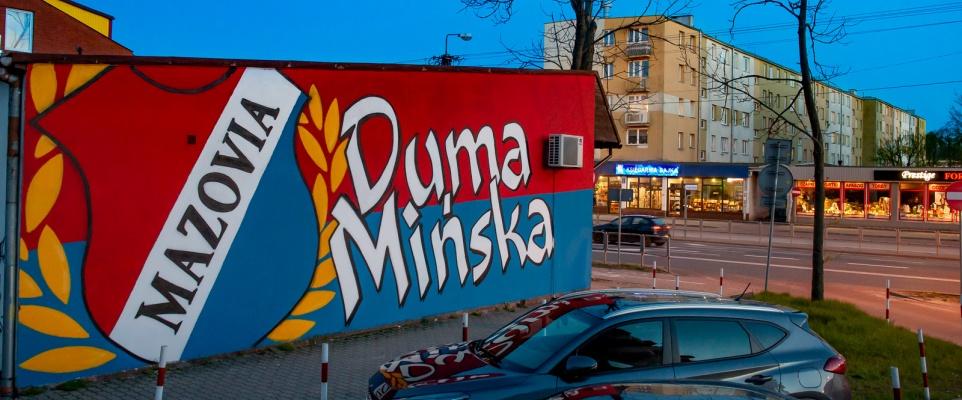 """""""Mazovia Duma Mińska"""" - nowy mural"""
