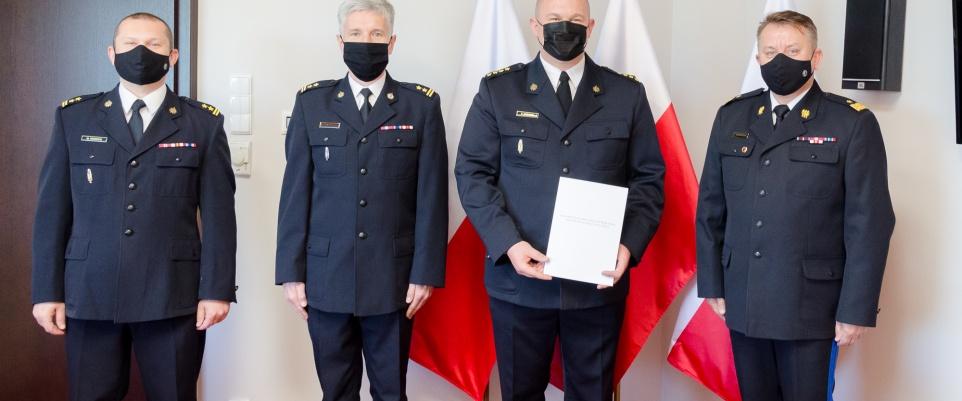 Powołanie zastępcy komendanta powiatowego PSP w Mińsku Mazowieckim