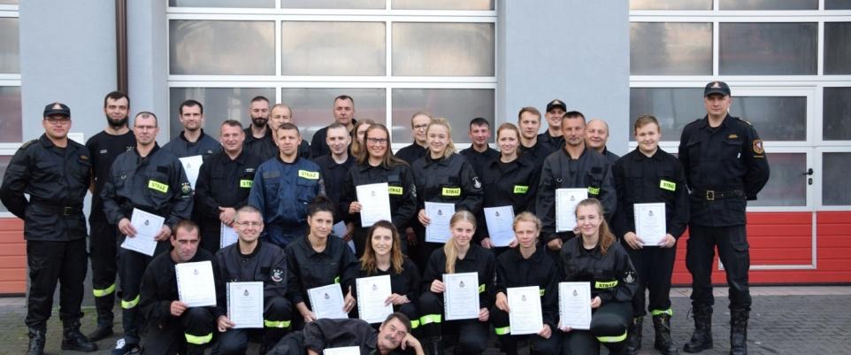 Zakończenie Szkolenia Podstawowego OSP