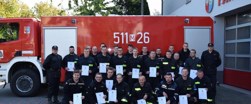 Zakończenie szkolenia dowódców OSP