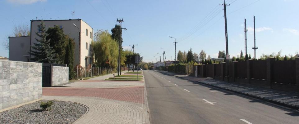 Zakończono budowę ul. Huberta