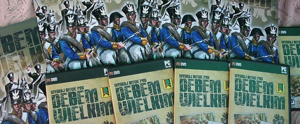 Gra i komiks o bitwie pod Dębem Wielkim z 1831 roku