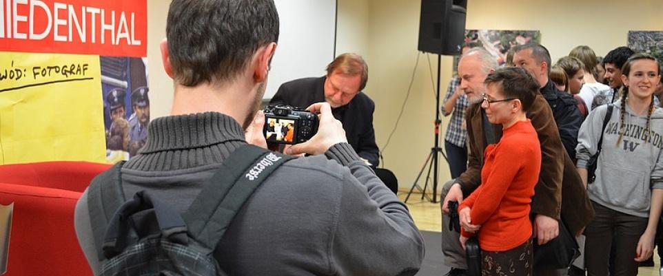 Chris Niedenthal w Mińsku